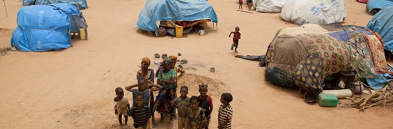 Malians in Mangalze refugee camp